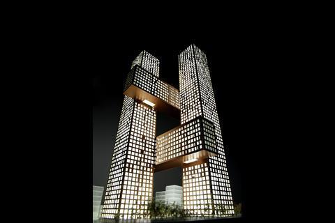 Cross # Towers